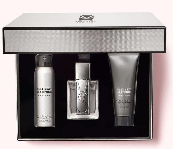 Very Sexy Platinum for him luxury gift set