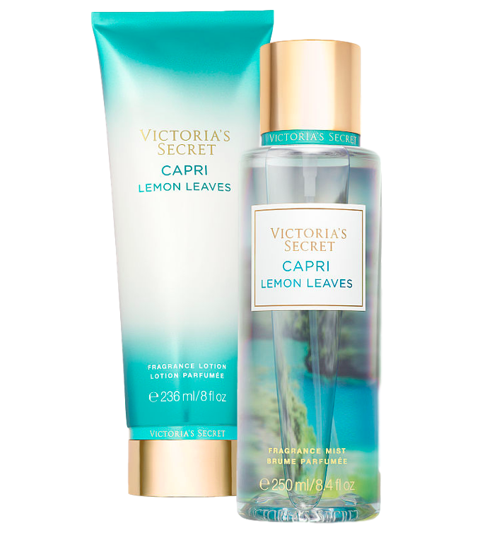 Capri Lemon Leaves Mist & Lotion Set