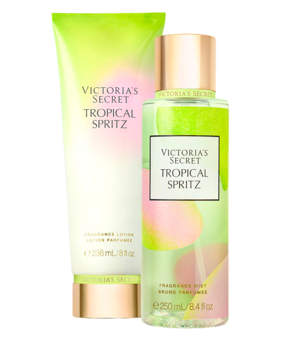 Tropical Spritz Mist & Lotion Set